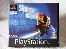 GIOCO PS1 PS2 PSX SHADOW MADNESS #SCES 02102 (1776) COME NUOVO, IN ITALIANO