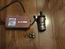 MSD 6420 6AL Ignition Box W/ MSD coil and vibration mounts