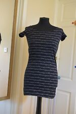 Criminal Damage Skeletal print top/dress size Small goth, punk, alternative