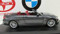 BMW M4 series F83     Mineral Grey 1/18th    Factory BMW Diecast