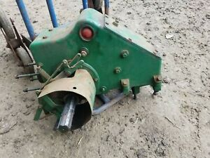 oxford Allen scythe mower gear box complete with linkage lever