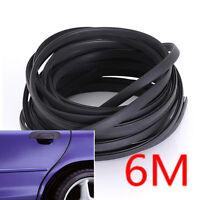 6M Universal Rubber Car Door Moulding Rubber Strip Trim Guard Edge Protector