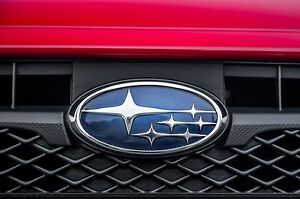 Ver. 3 CLEAR Emblem Protector Overlay for 12-16 Subaru Impreza Crosstrek XV