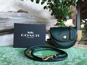 Vintage COACH Green Spring Lock Mini #9826 Crossbody Convert Belt Bag (HTF)