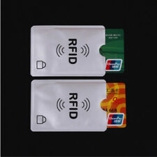 10 x Card Minder RFID Blocking Contactless Debit Credit Protector Sleeve Wallets