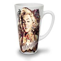 Marilyn Famous NEW White Tea Coffee Latte Mug 12 17 oz | Wellcoda