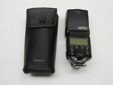 CANON SPEEDLITE 580EX 580 EX CAMERA FLASH WITH SOFT CASE TESTED WORKS GREAT