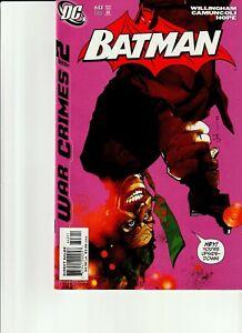 BATMAN #643 WAR CRIMES (DC COMICS 2005) VERY FINE + 8.5