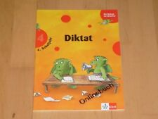 Die kleinen Lerndrachen - Diktat - Deutsch 4 Klasse Deutsch Übungsheft