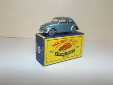 MATCHBOX REG.WHEEL NO.25B VOLKSWAGEN 1200 [BUG] HTF MISSPELLED BASE CODE 1V