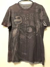 NIGHTMARE BEFORE CHRISTMAS DISNEY STORE SHIRT JACK SAlly Size M