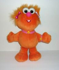 Fisher Price Sesame Street Zoe Doll Orange Monster Plush Stuffed Toy 10""