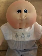 soft sculpture cabbage patch kids 1982 New Ears Big head baby boy