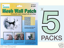 5 PACKS WALL REPAIR PATCH Fix Drywall Hole Ceiling Plaster Damage Metal Mesh 4X4
