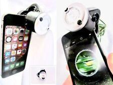 30x Telefono Lente di Ingrandimento Ottico Zoom Clip IPHONE Samsung Gioielli