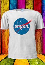 Nasa Geek Nerd Retro Astronaut Logo T-shirt Vest Tank Top Men Women Unisex 316