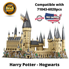 Building Blocks Sets 16060 Harry Potter Movie Castle Brick Model Kids Toys Gift