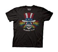 Grateful Dead Uncle Sam Skull Officially Licensed Adult T-Shirt