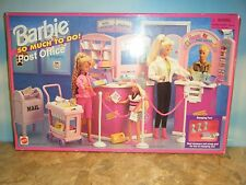 1995 BARBIE SO MUCH TO DO POST OFFICE *NEW*