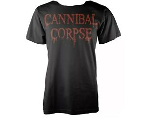 CANNIBAL CORPSE BLACK T SHIRT BAND DEATH METAL LARGE SIZE L