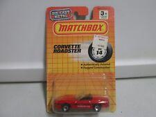 Matchbox Corvette Roadster Mb14