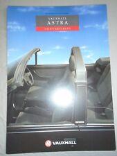 Vauxhall Astra Convertibles brochure 1991 Ed 2