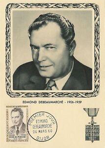 CP MAXIMUM PREMIER JOUR EDMOND DEBEAUMARCHE 1960
