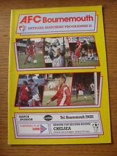 28/11/1989 Bournemouth V Chelsea [ZENITH Data Systems COPPA] (no difetti apparenti).