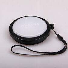 72mm White Balance WB Lens Cap for Nikon D300s D7000 18-200 Canon 60D 7D 28-135