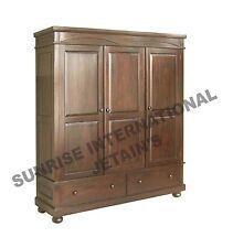 Home Furniture - Wooden 3 door Cupboard / Wardrobe (panel) !!