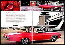 1968 Chevrolet Brochure Impala Bel Air Caprice Biscayne, Original 68