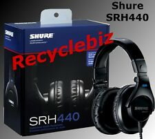 Shure SRH440 NEW IN BOX Professional Studio Headphones IN STOCK Free Shipping