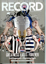 2011 AFL Grand Final Record Geelong VS Collingwood