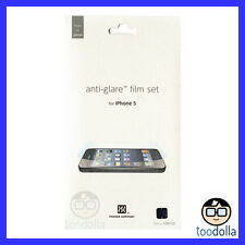 POWER SUPPORT HD Screen Protection Film, Anti Glare, Apple iPhone 5/5s/5c/SE