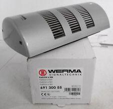 Werma 691 300 55 Flatsign or SBM Signal Light 24VAC/DC Green/Yellow/Red