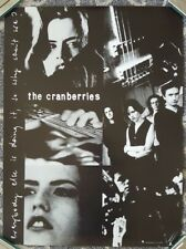 BY667 The Cranberries Dolores O/'Riordan Irish Singer Rock Grunge Fabric Poster