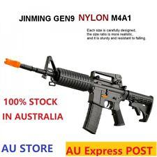 Nylon Jinming M4A1-J9 Gen9 Gearbox Gel Ball Blaster Auto Mag-Fed AdultSize