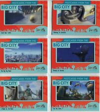 Robots The Movie Complete Postcards From The Big City Chase Card Set PC1-6