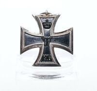 Orden Eisernes Kreuz 2. Klasse 1914 EK 2 Wilhelm II. WW1 Iron Cross Hersteller R