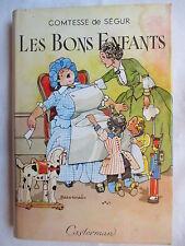 COMTESSE DE SEGUR LES BONS ENFANTS ILLUSTRATIONS JOBBE DUVAL AVEC JAQUETTE 1957