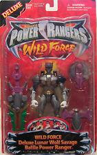 RARO SABAN 's Power Rangers Wild force-deluxe Lunar Lobo Salvaje battle Power
