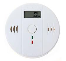 Détecteur de monoxyde de carbone CO gaz sans fil alarme sécurité EN 50291 85 dB