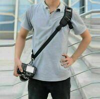 For Nikon Canon Sony SLR DSLR Camera Quick Rapid Shoulder Sling Belt Neck Strap