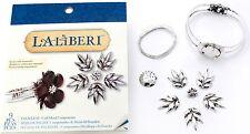 Silver Palm Leaf Cuff Bracelet, Laliberi Jewelry Kit EK SUCCESS - NEW, 56-27007