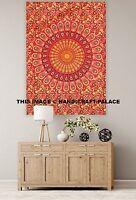 Dorm Decor Wall Hanging Hippie Tapestry Bohemian Throw Indian Ethnic Mandala Rug