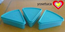 Tupperware Free Ship New Pie Little Pizza 3 Pc Set Storage Containers with lids
