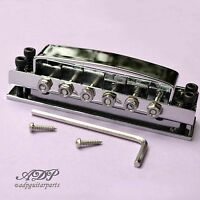 Cordier Ricky-style Guitar Tunematic Bridge for RIickenbacker® Chrome