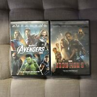 The Avengers and Iron Man 3