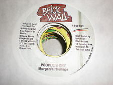 Morgan's Heritage/Jack Radics  45 People's Cry/Time For Love BRICK WALL