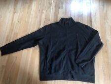 Polo Ralph Lauren Zip Up Jacket 2XL XXL Mens RIBBED DARK GREY NICE